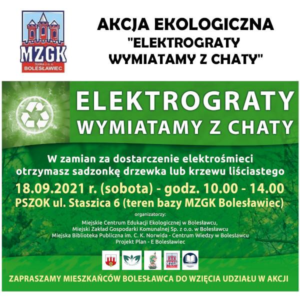 Elektrogabaryty wymiatamy z chaty - 2021 r.