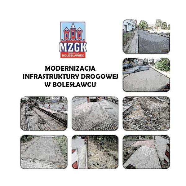 Modernizacja infrastruktury drogowej w Bolesławcu